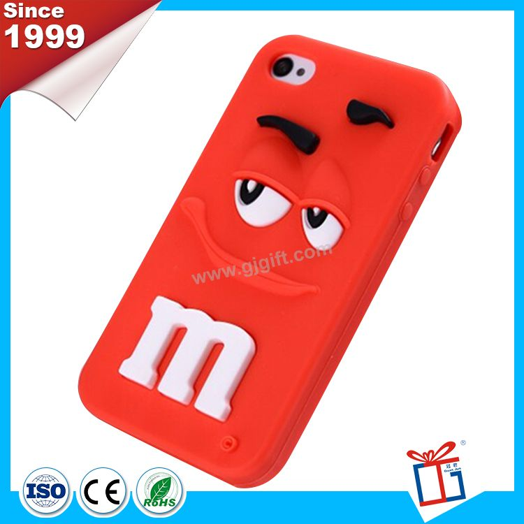 Top grade lovely silicone cellphone case