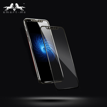Newly Full Cover Explosion Proof Carbon Fiber Tempered Glass Screen Protector For Iphone 10,For Iphone X Film