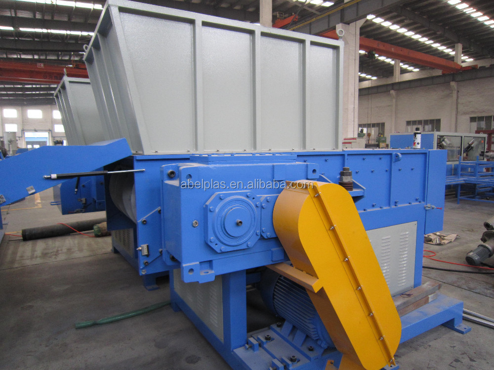 waste plastic film shredder, small plastic shredder machine