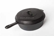 preasoned cast iron dutch oven, cast iron casseroles, iron stew pot