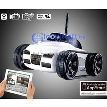 i-SPY Tank wifi with spy Camera 4-CH controlled by iPhone/iPad/iPod