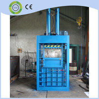 hydraulic vertical press baler machine for waste clothing