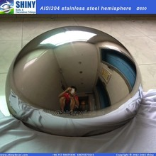 24 inch stainless steel hemisphere in mirror polished