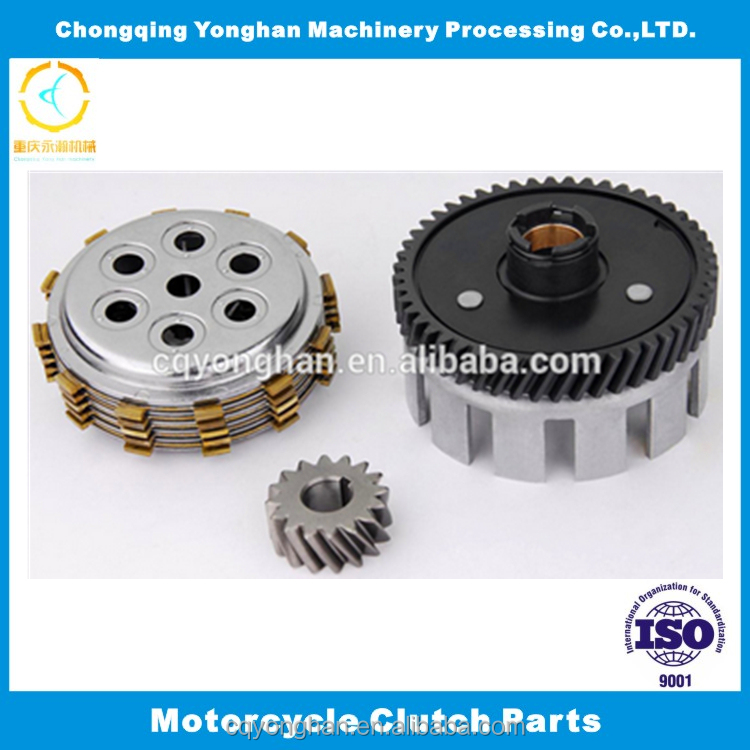 High Performance Motorcycle Metal Clutch Cover Assembly for Suzuki AX100