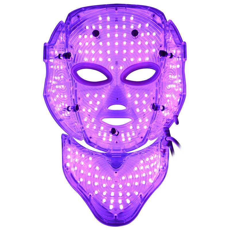 3 color photon light therapy facial beauty equipment