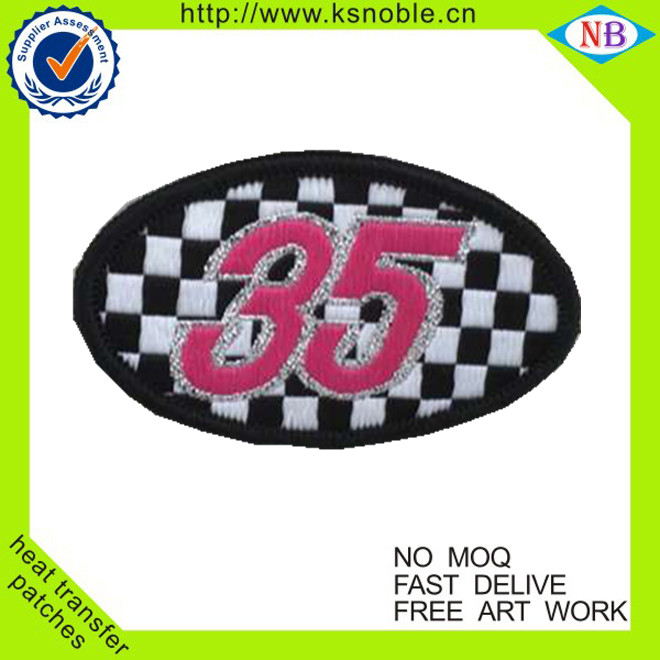 Garment accessories patches for clothing patch with logo