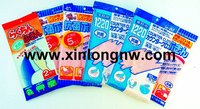 household wipe, disposable wipe; disposable tissue; kitchen cleaning cloth