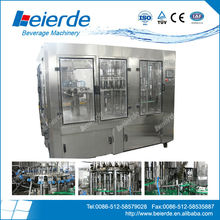 filling machine for fruit juce three in one unit