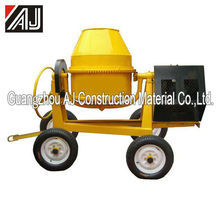 Hot sale Africa !!! Gasoline/Electric Motor/Diesel Concrete Mixer Indonesia with Charging Capacity260L,300L,350L,400L,500L