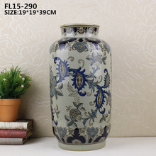 Other home decor type ceramic decorativer vase for wedding decoration