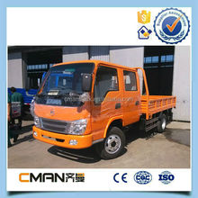 China widely used kama diesel 4x2 double cabin mini truck 3.5ton hot sale