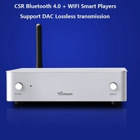 WP20 WIFi Bluetooth smart music player supports DLNA and Airplay aptX Lossless audio output