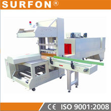 PE film Pallet Wrap Machine and Shrink Tunnel