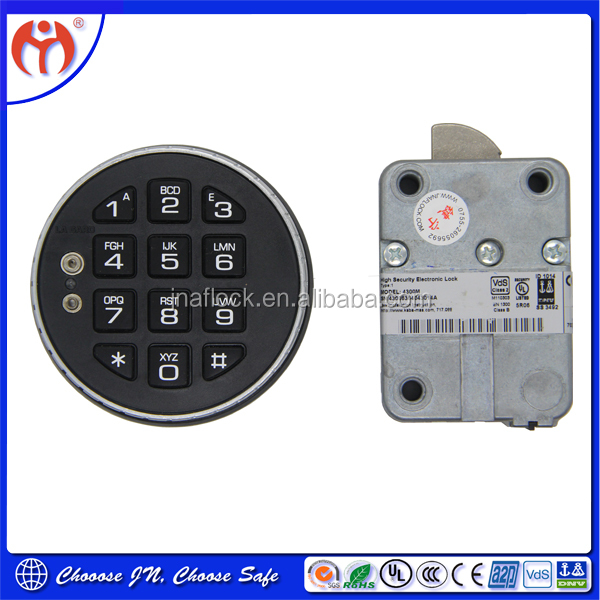 Cheap Security Digital Electronic Combination Locks for Cash Storage Safes & Safety Deposit Lockers