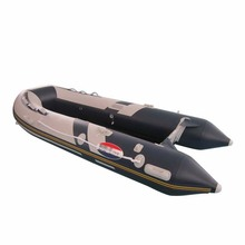 5.0 meter black color military inflatable boat 0.9mm pvc boat