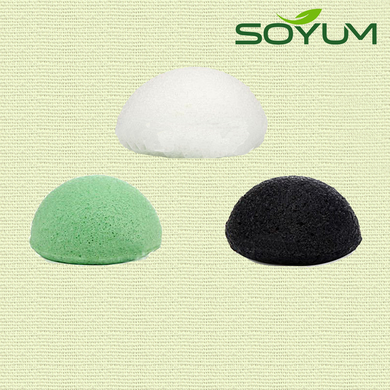 natural konjac bath sponge for kids bath