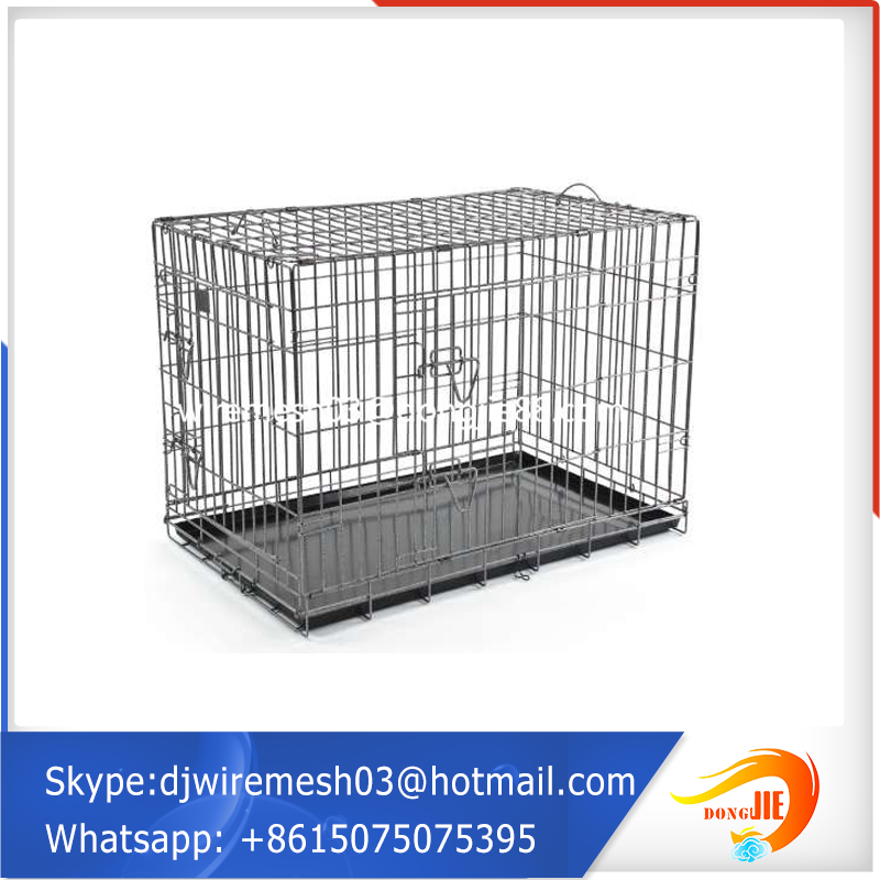metal pet exercise aviation dog cage customized