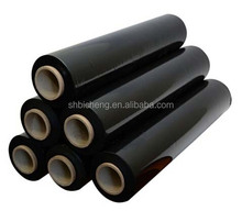 Free Samples Black Pe Film Pallet Film Rolls Colored Plastic Wrap