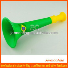custom promotion drinking horns plastic