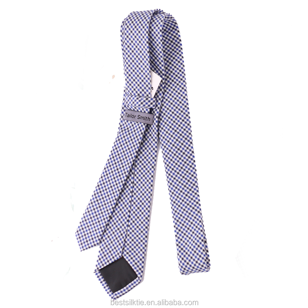 Factory Prices Fashion Style Promotional 100% Plain Cotton Ties