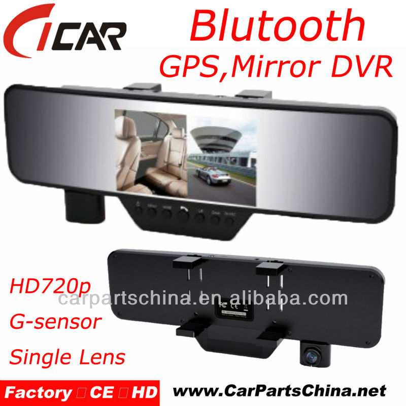 "Manufacturer, 4.3"" Large LCD G-sensor 1080P Gps Bluetooth Event Drive Recorders"