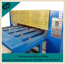 Honeycomb slitting machine for both Long strips and small pieces