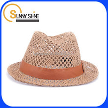 Sunny Shine high quality fashion straw hat wholesale Panama hat