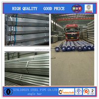 EN39 GALVANIZED SCAFFOLDING PIPE STANDARD LENGTH OF GALVANIZED PIPE