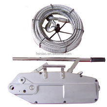 Wire rope pulling hoist wire rope pulley block manual lever hoists