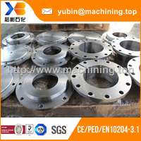 Customized forging and machined taper flange with TUV certificate