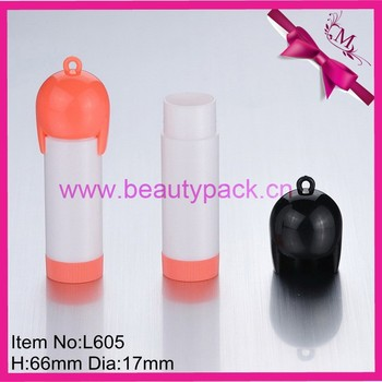 funny black lip balm tube