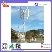 Factory prices sale small vertical axis wind turbines permanent magnet device