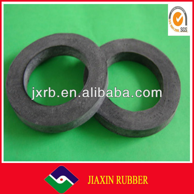 china factory price round soft rubber toilet bowl wax ring gasket sheet
