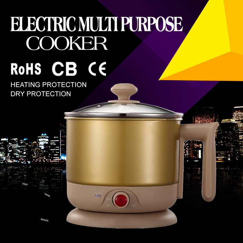 1000W 110V/220V 1.8L ul electric steamer cooker used electric cookers for sale