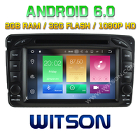 WITSON Octa-Core(Eight Core) Android 6.0 DOUBLE DIN CAR DVD GPS FOR MERCEDES-BENZ C CLASS W203 2G ROM 1080P TOUCH SCREEN