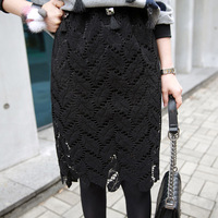 ZH0818A Korean fashion elegant women lace skirts