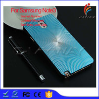 Sunny Looks Brushed Aluminium + PC CD Metal Effect Hard Back Shiny Cover Case Bumper Case For Samsung Galaxy Note3 N9006