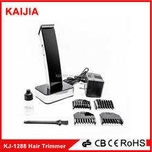 fashable black professional rechargeable hair clipper with low price