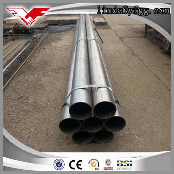 Large Diameter ERW Water Steel Pipe unit weight of circular hollow section