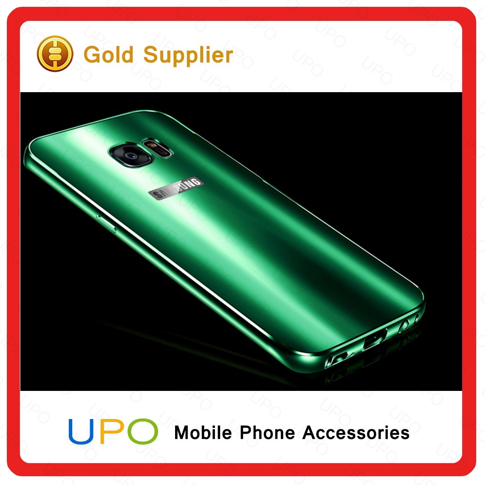 [UPO] Korea Dazzle Colorful Electroplating Metal Aluminum Bumper Phone Case for Samsung Galaxy S7 Edge