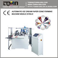 Automatic Ice Cream Paper Cone Forming