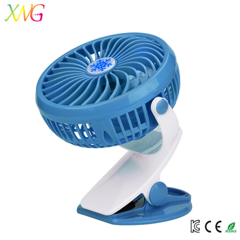 Customized logo cooling standing silent mini fan usb rechargeable hand portable fan
