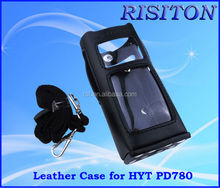 two way radio leather case Digital radio PD780 walkie talkie Leather case for HYT