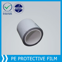 pe black white protective film for sandblasting Aluminum Profile
