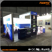 Hot Selling 10x20 Aluminum Extrusion Trade Show Booth Design