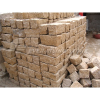 Beige Granite paving stone