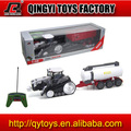 1:28 plastic battery toy tractors