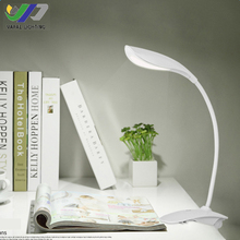 VAPAI foldable eye caring USB smart rechargeable office study reading led clip desk lamp