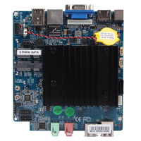 Fanless Thin Client Motherboard With Intel