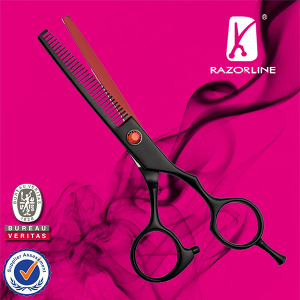 Razorline CK101T SUS440C high quality hair thinner scissor Hotest salon thinning scissor Best hair texture scissors